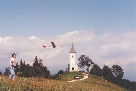 Vzlet na pobočju Jamnika