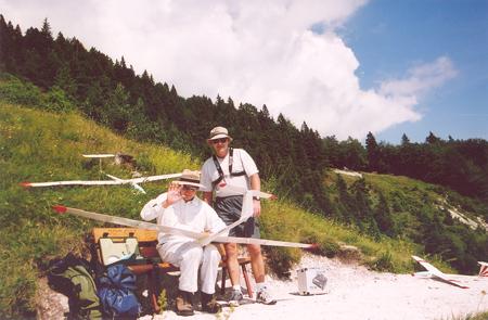 Na vzletni rampi na Dobrči