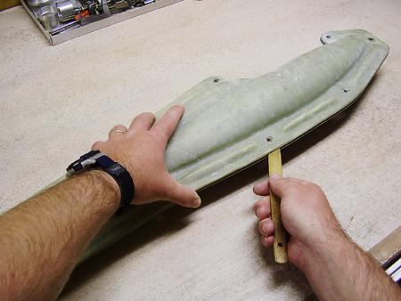 Razdvojimo z leseno liziko