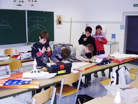 Gradnja v učilnici