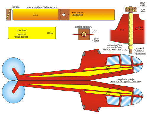 Načrt za helikopter