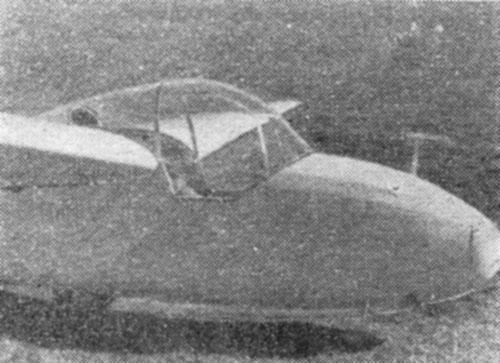 Detajl kabine na KB-1 Triglav