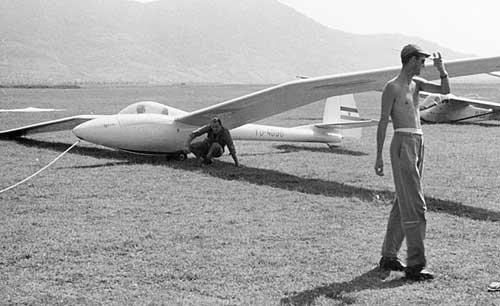 Orel v Vršcu leta 1962