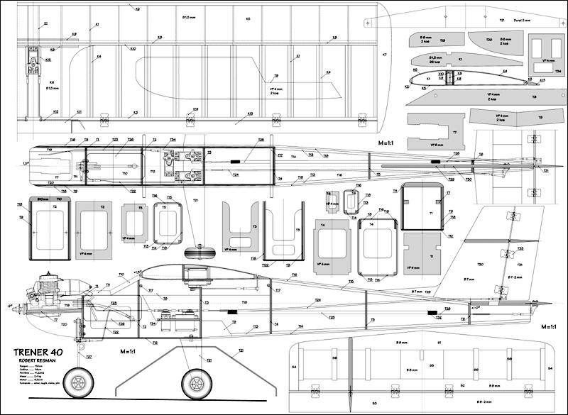 Načrt za Trener 40