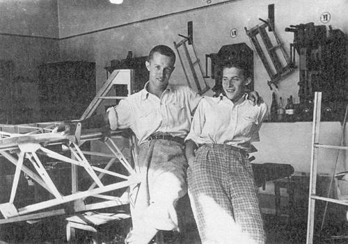 Boris Cijan in V. Humek