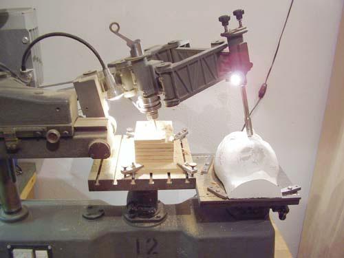 Priprava 3D pantografa