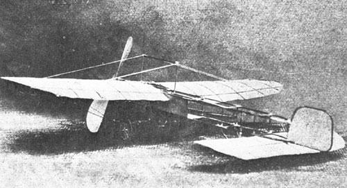 Model Bleriotovega letala