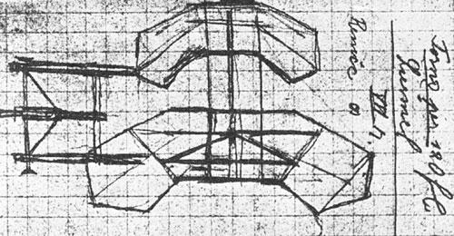 Skica brezmotornega letala Race