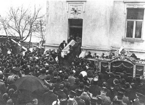 Rusjanov pogreb