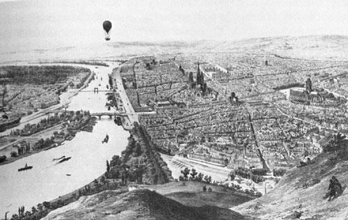 Najstarejša upodobitev balona v Sloveniji