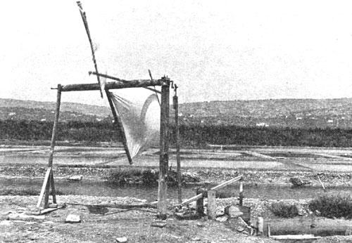 Vetrna črpalka v sečoveljskih solinah