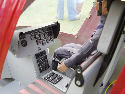 Detajl kabine