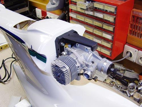 Montaža motorja