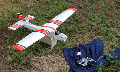Cessna iz stiropora