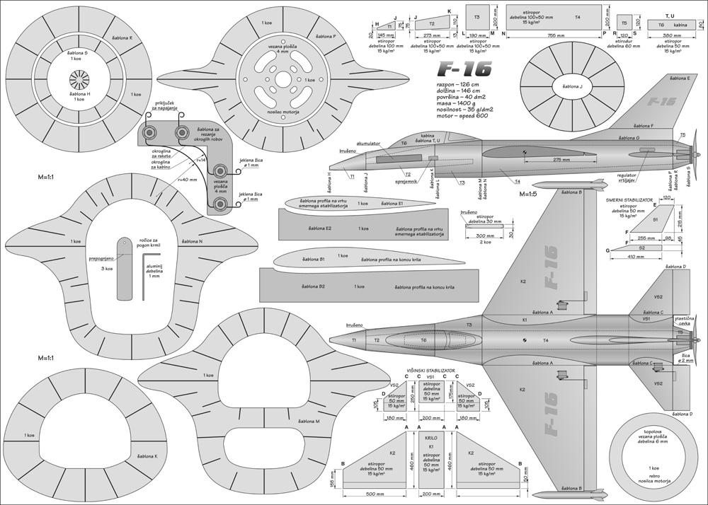 Načrt F16