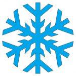 Snežinke iz stiropora